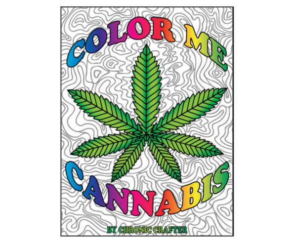 Color Me Cannabis Is A Coloring Book For Stoners