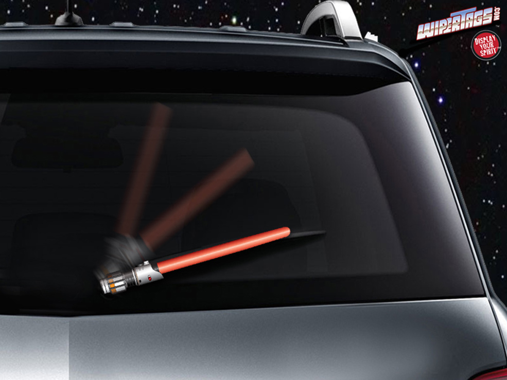 Lightsaber Windshield Wiper Blades Because Why Not?