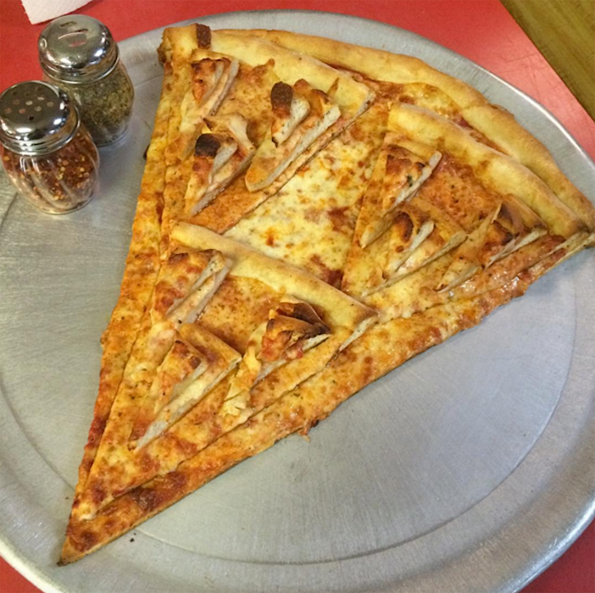 Dreams Really Do Come True: Pizza Topped With Tiny Pizza