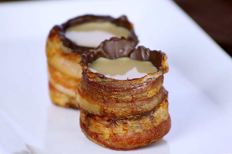 Bacon Chocolate Shot Glasses Are The Stuff Dreams Are Made Of