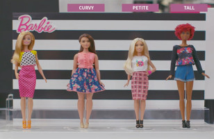 Mattel Announces That Barbie Has Three New Body Types