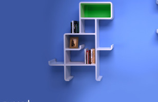 Your House Needs This Awesome Dinosaur Shelving Unit