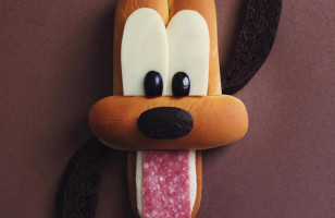 Your Favorite Disney Characters Made Up Of All Kinds Of Food