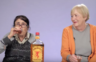 Watch These Grandmas Try Fireball Whisky For The First Time