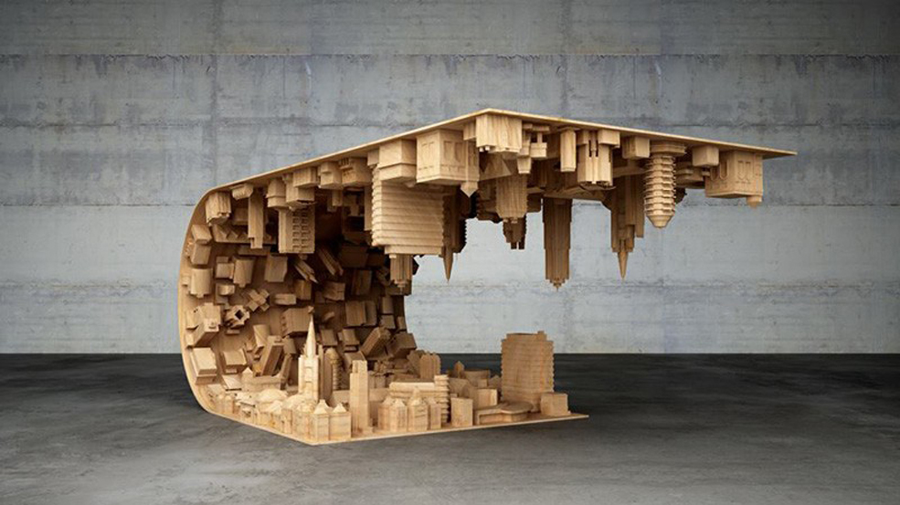 this inception coffee table is a real dream come true