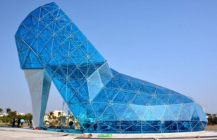 Uhhh, A Church Shaped Like A Shoe, You Know, For Women