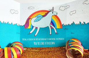Send A Unicorn Card Full Of Glitter Because You're Evil