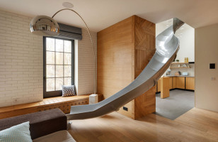 An Apartment With A Giant Slide & More Incredible Links