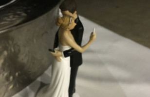 This Is The Saddest Wedding Cake Topper Of All Time