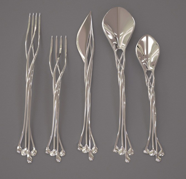 This Elven Silverware Will Make Every Meal More Whimsical