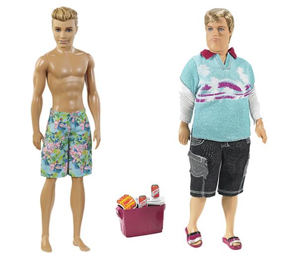 Barbie Got A New Look, Now Ken Gets A Dad Bod Makeover!