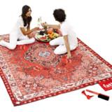Oriental Rug Picnic Blanket