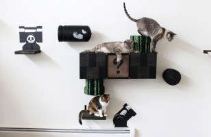 Your Cat Is Gonna Love This Super Mario Cat Play Area