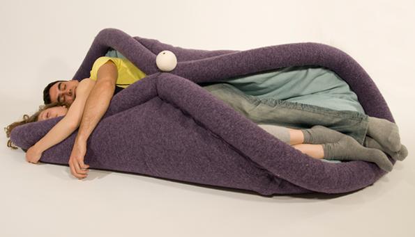 Blandito, A Cozy Cushion That Turns You Into A Burrito
