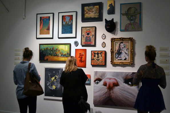 The Cat Art Show: Pawsitively Purrfect In Every Way
