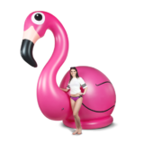 Giant Inflatable Pink Flamingo