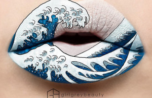 This Lip Art By Makeup Master Andrea Reed Is Fantastic!