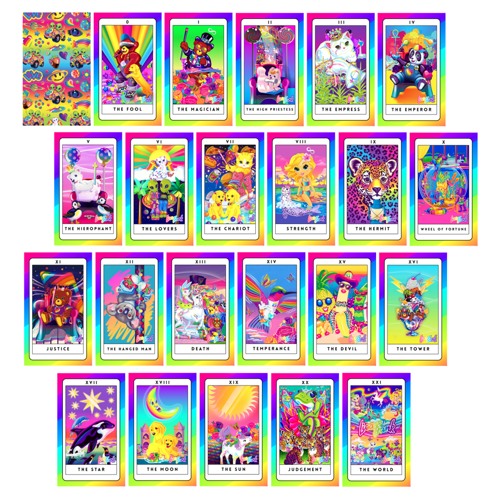 The Lisa Frank Tarot Card Deck You've Always Wanted