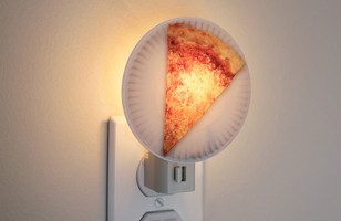 Who Else All Of A Sudden Needs A Pizza Night Light Really Bad?