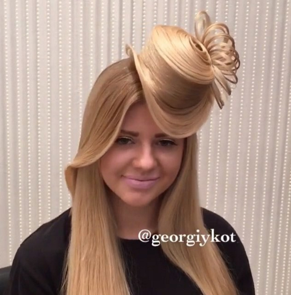How To Give Yourself A Mini Top Hat Hairstyle