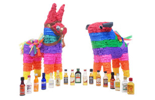 Adult Piñatas Contain Bottles Of Booze Instead Of Candy