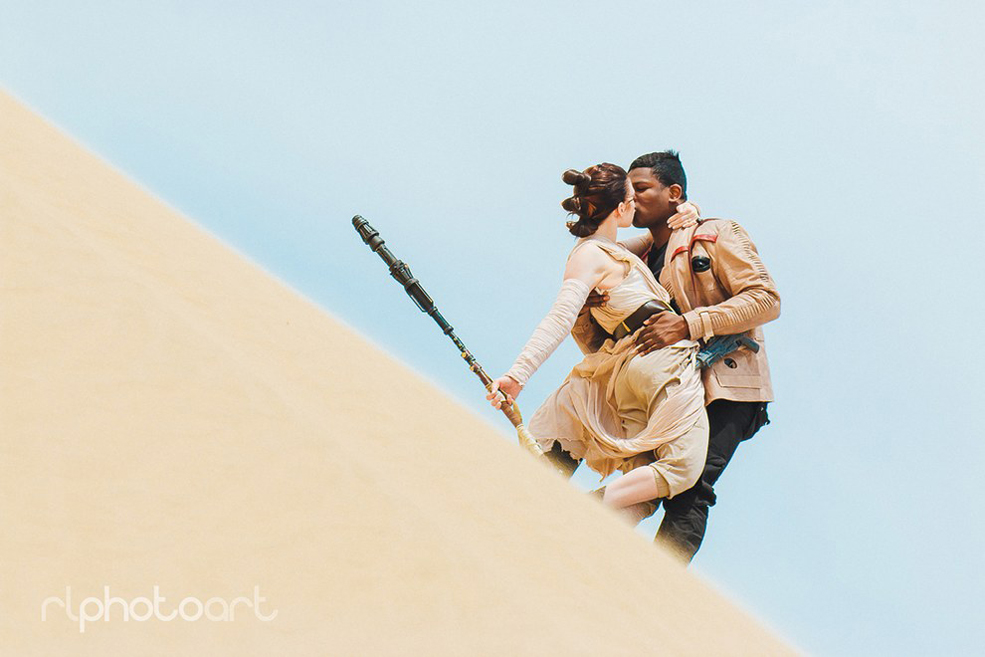 This IRL Couple's Rey And Finn Cosplay Is Pretty Much Perfect