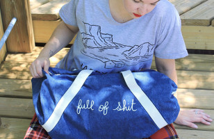 You Can Fill The Full Of Sh*t Sleepover Bag With All Your Sh*t
