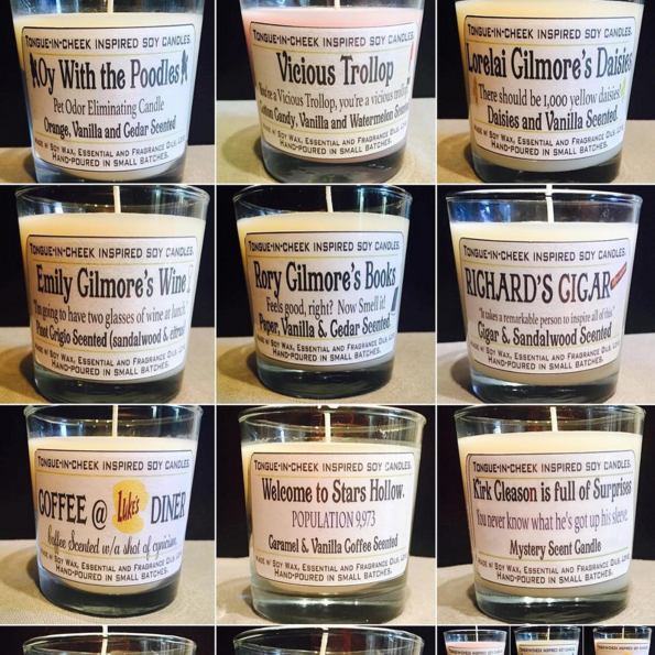Gilmore Girls Candles Is A Thing That Exists (And I Want Them All)