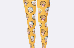 Golden Girls Leggings Are Perfect Attire For Golden Girls Marathons