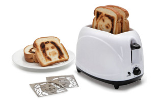 Toast Your Face Onto A Piece Of Bread With The Selfie Toaster