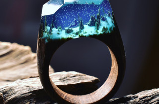These Whimsical Rings Show Pretty Little Mini Worlds