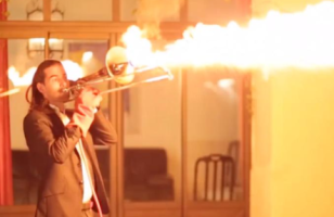 Music Meets Fire With This Trombone Flamethrower