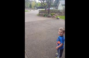 Meet The Turkey Whisperer, A Little Boy Who Talks To Turkeys