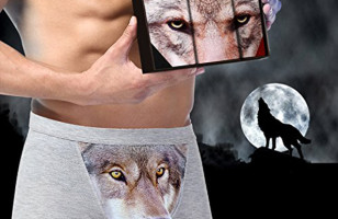 Wolf Boxer Briefs Have Me Howling, But Not At The Moon…