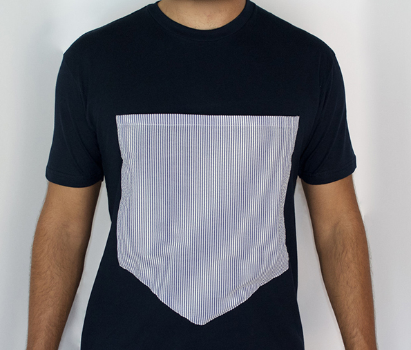 Store Your Dog Or A Pitcher Of Beer In This Giant Pocket T-Shirt