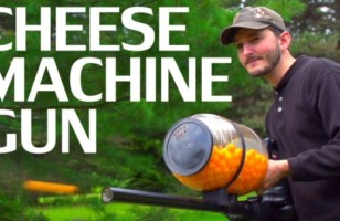 All Of A Sudden Really Want A Cheese Ball Machine Gun…