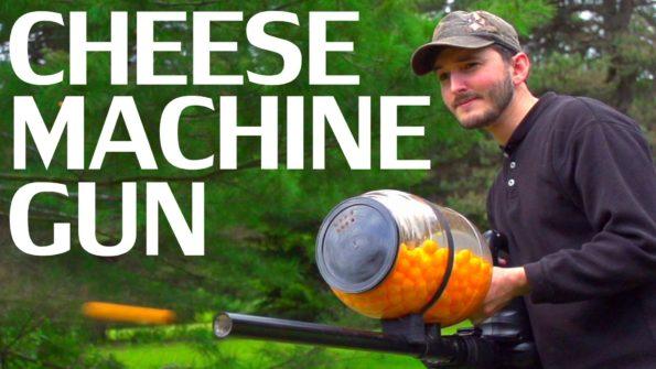 All Of A Sudden Really Want A Cheese Ball Machine Gun…