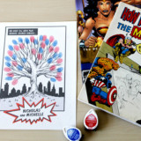 Comic Book Fingerprint Tree