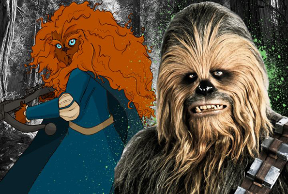 It's Come To This, You Guys: Disney Princesses As Wookies
