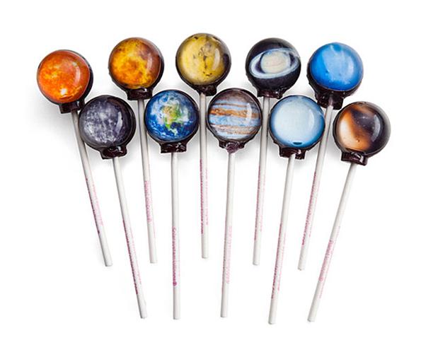 Hopefully These Planet Lollipops Do Not Taste Like Uranus