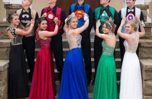Matching Superhero Prom Outfits & More Incredible Links
