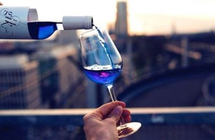 Apparently Blue Wine Is Now A Real Thing That Exists