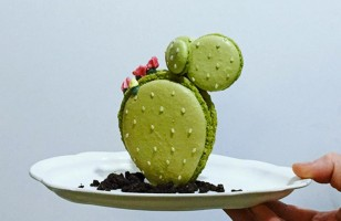 This Cactus Macaron Is So Cute I Can Barely Stand It