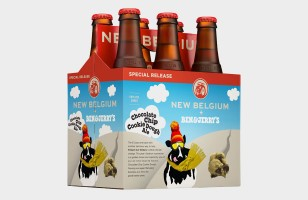 Behold! Chocolate Chip Cookie Dough Ice Cream Beer