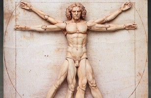 Leonardo da Vinci's Vitruvian Man Action Figure Because Why Not?