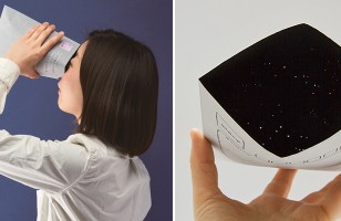 Send Someone A Piece Of Space With The Galaxy Envelope