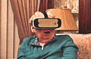 Watch This Grandma Trying Virtual Reality For The First Time