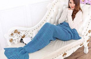 This Mermaid Blanket Is The Most Whimsical Blanket Ever