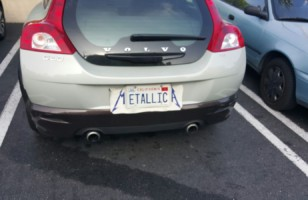 A Makeshift Metallica License Plate & More Incredible Links