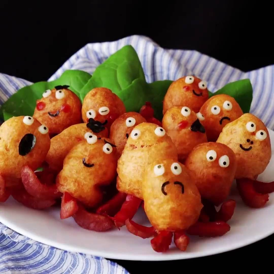 These Octopus Corn Dogs Are Possibly The Cutest Food EVER